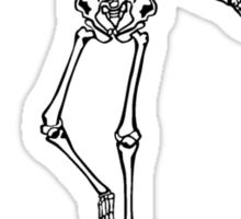 Skeleton Living Inside You Sticker