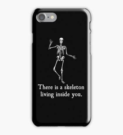 Skeleton Living Inside You iPhone Case/Skin