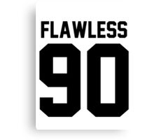 Flawless '90 - Jersey Tee  Canvas Print