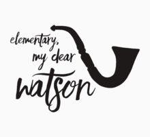 Elementary, my dear Watson One Piece - Short Sleeve