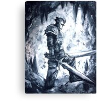 Two Sword Knight Canvas Print