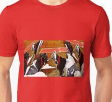 Abstract cows Unisex T-Shirt