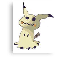 I'm not Pikachu, I'm Mimikyu! Canvas Print