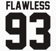 Flawless '93 - Jersey Tee  by jezzhands