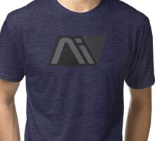 ME: Andromeda Initiative - Grey AI Tri-blend T-Shirt