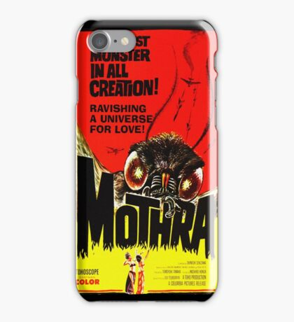 MOTHRA! iPhone Case/Skin