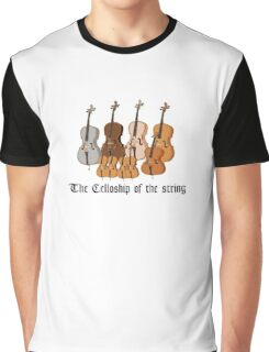The Celloship of the String Graphic T-Shirt