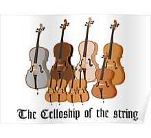 The Celloship of the String Poster