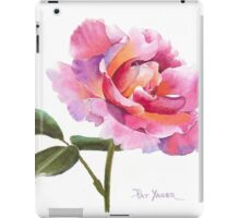 Rose Watercolor iPad Case/Skin