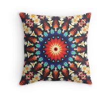 Colorful Mandala Motif Throw Pillow