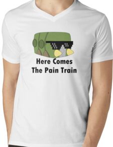 Charjabug T-Shirt Mens V-Neck T-Shirt