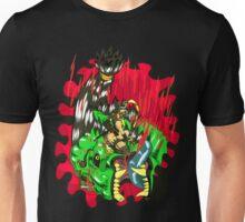 Kunoichi Hunter vs Raksha Unisex T-Shirt