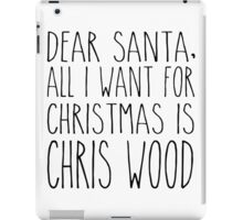 Chris Wood XMas iPad Case/Skin