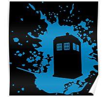 TARDIS Splat Poster