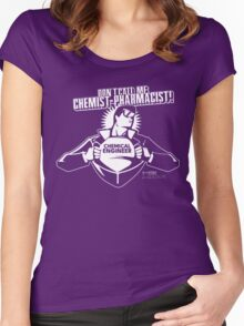 Don't call me chemist-pharmacist Women's Fitted Scoop T-Shirt
