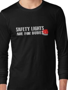 Ghostbusters: Safety Lights are for Dudes Long Sleeve T-Shirt