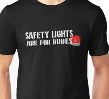 Ghostbusters: Safety Lights are for Dudes Unisex T-Shirt