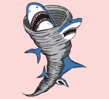 Shark Tornado One Piece - Short Sleeve