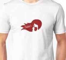 Shhh! Secret Bar - Red Unisex T-Shirt