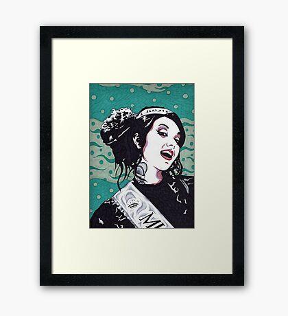 Miss BettyAnn Framed Print