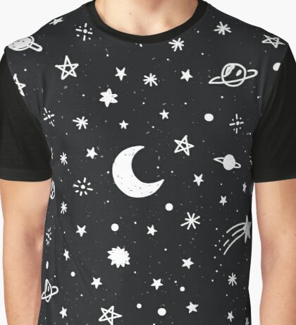 Cosmic Graphic T-Shirt