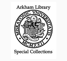 Miskatonic University - Arkham Library Special Collections T-Shirt