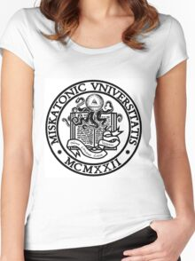 Miskatonic University Women's Fitted Scoop T-Shirt