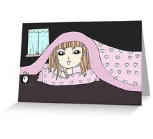In the dark Greeting Card