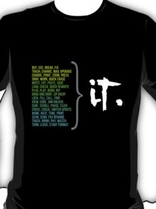 Technologic (Dark Background) T-Shirt