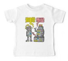 Robot Talk Baby Tee