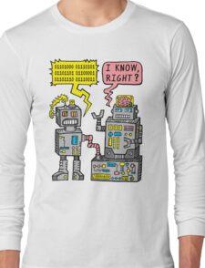 Robot Talk Long Sleeve T-Shirt