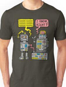 Robot Talk Unisex T-Shirt