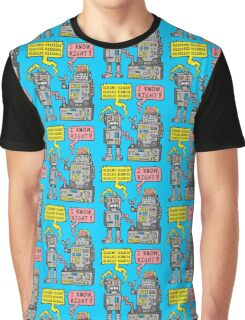 Robot Talk Graphic T-Shirt