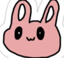 pink bunny Sticker