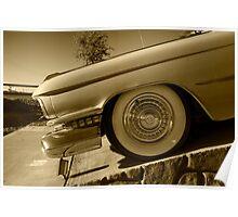 Cadillac Wheel  Poster