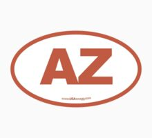 Arizona AZ Euro Oval ORANGE by USAswagg