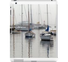 Foggy Mooring iPad Case/Skin