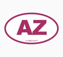 Arizona AZ Euro Oval PINK by USAswagg