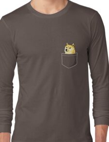 Pocket Doge Long Sleeve T-Shirt