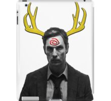 Yellow King iPad Case/Skin