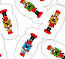 Nutcracker Pattern - Christmas, Xmas Sticker