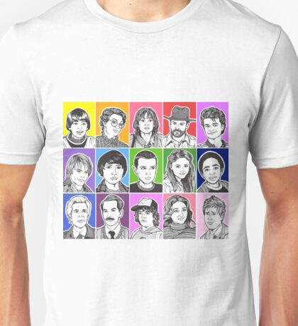 Stranger Things Cast Unisex T-Shirt