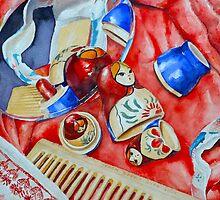 Matryoshki fold art (Russian Nesting Dolls) by moloriki