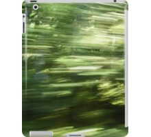 Fast Forest iPad Case/Skin