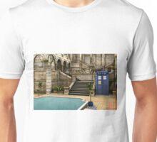Courtyard Tardis Unisex T-Shirt