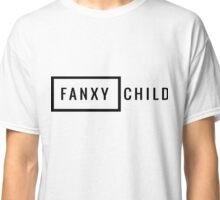 Fanxychild Crew Print Classic T-Shirt