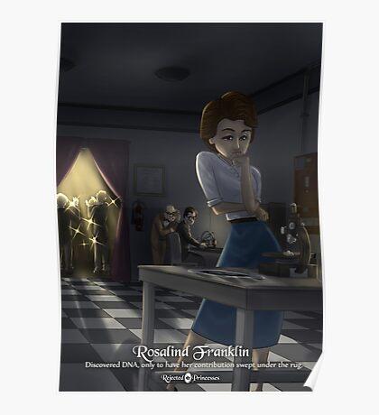 Rosalind Franklin - Rejected Princesses Poster