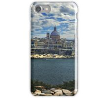 Sliema, View to Valletta iPhone Case/Skin