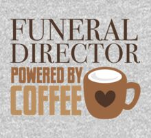 funeral director powered by coffee One Piece - Short Sleeve
