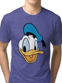 Donald Duck - Cartoon - animasi Tri-blend T-Shirt